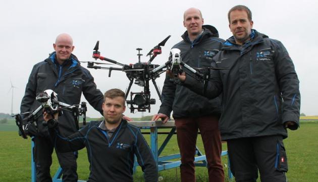 Drohnen Service Pro in der Rhein-Zeitung. Foto: Ulrike Platten-Wirtz